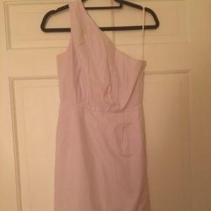 JCrew off the shoulder dress, Violet, size 0